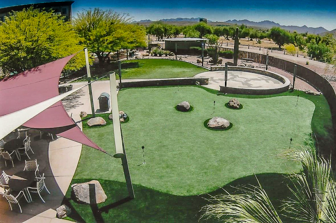 Image of: Golf And Putting Greens Artificial Grass Turf Masters